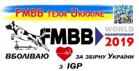Наклейка на авто FMBB 2019