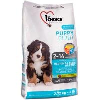1st Choice Puppy с курицей