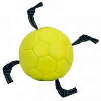 Мяч кожаный - воздушный с лентами