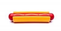 Hot Dog Nylon Chew Toy
